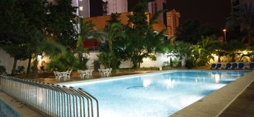 Swimming pools perla hotel benidorm