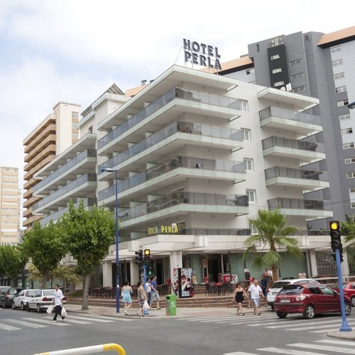 Facade  Perla Hotel