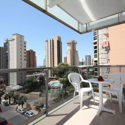 Room's terrace Perla Hotel